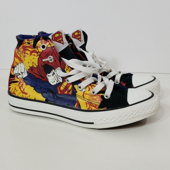 c902f1e22f4702 Converse Other - Superman Converse All Star Sneakers